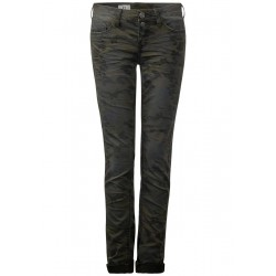 Camouflageprint Denim Crissi by Street One