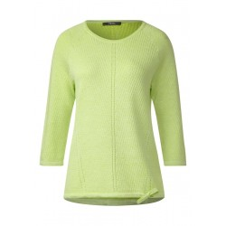 Ajour Pullover mit Tunnelzug by Cecil