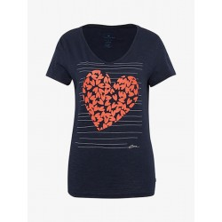 T-Shirt mit Valentinstag-Print by Tom Tailor