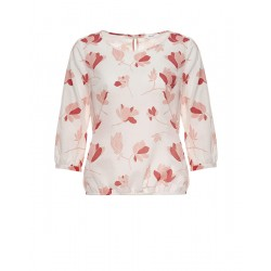 Blouse imprimé Fu flower by Opus