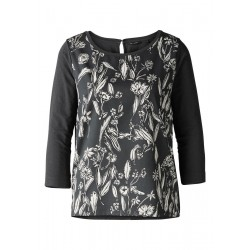 Longsleeve mit Cut Out im Nacken by Marc O'Polo
