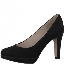 Velours-Pumps mit Plateau by s.Oliver Red Label