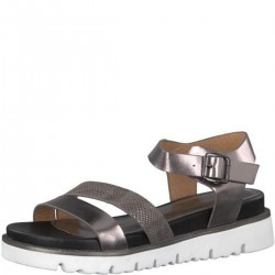 Sandalen in Metallic-Look by s.Oliver Red Label