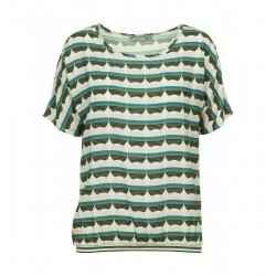 Top mit All-Over-Print by Geisha