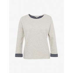 Sweat-shirt structuré by Tom Tailor Denim
