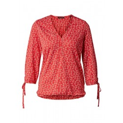 Jersey-Bluse mit floralem Muster by Marc O'Polo