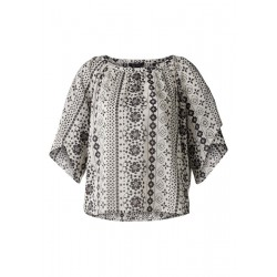 Tunika-Bluse mit Allover-Print by Marc O'Polo