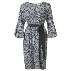 Feminines Kleid mit Animal-Print by Yaya