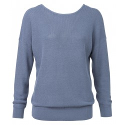 Pullover mit Cut-Out by Yaya