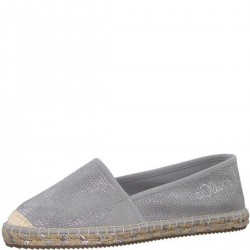 Espadrilles métallisées by s.Oliver Red Label