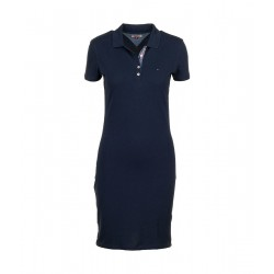 Robe polo en coton bio extensible by Hilfiger Denim