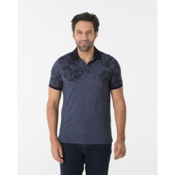 Polo Jersey mit Print by Mise au Green