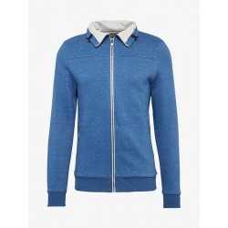 Melierte Sweatjacke by Tom Tailor