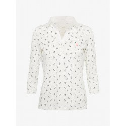 Polo-Shirt mit Anker-Print by Tom Tailor