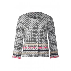 Veste courte jacquard by Street One