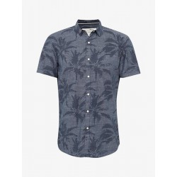 Hemd mit Palmen-Print by Tom Tailor Denim