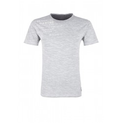 Meliertes T-Shirt mit Print by s.Oliver Red Label