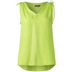 Feminines V-Neck Top by Street One