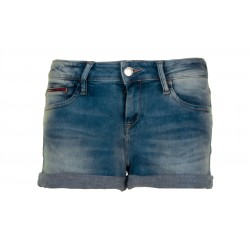 Short en denim à ourlets retroussés by Tommy Jeans