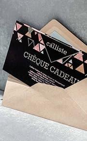 Chèque cadeau by Calliste