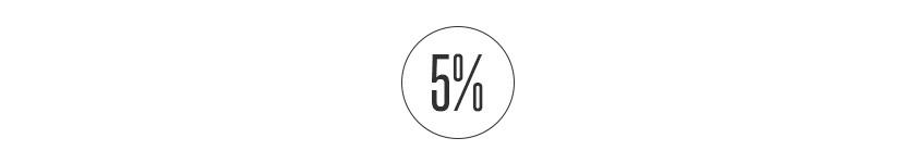 5% de remise
