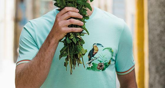 T-shirt by Calliste