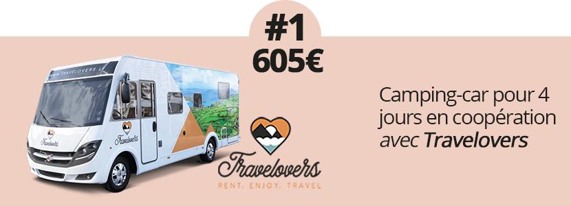 Gagnez un camping-car pour 4 jours
